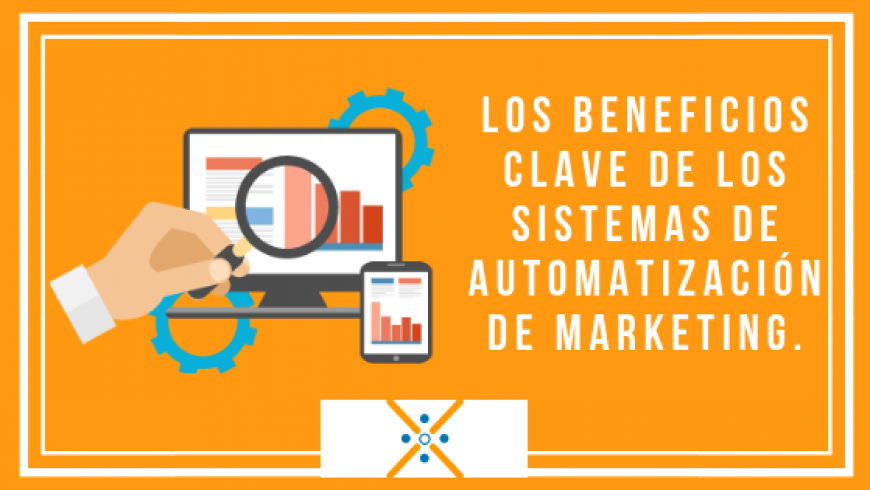Los beneficios clave de los sistemas de automatización de marketing.
