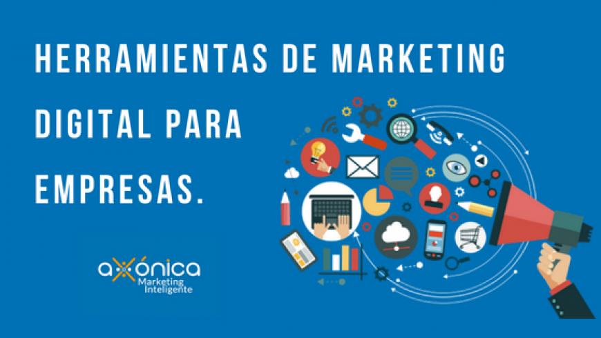Herramientas de marketing digital para empresas.